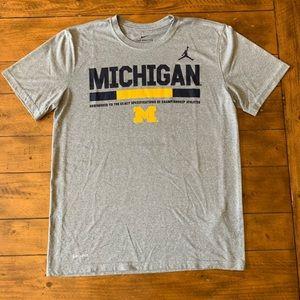Jordan, University of Michigan NIKE Dri-Fit tee
